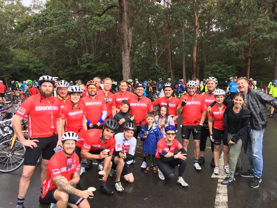 2018 MS Sydney to the Gong bike ride